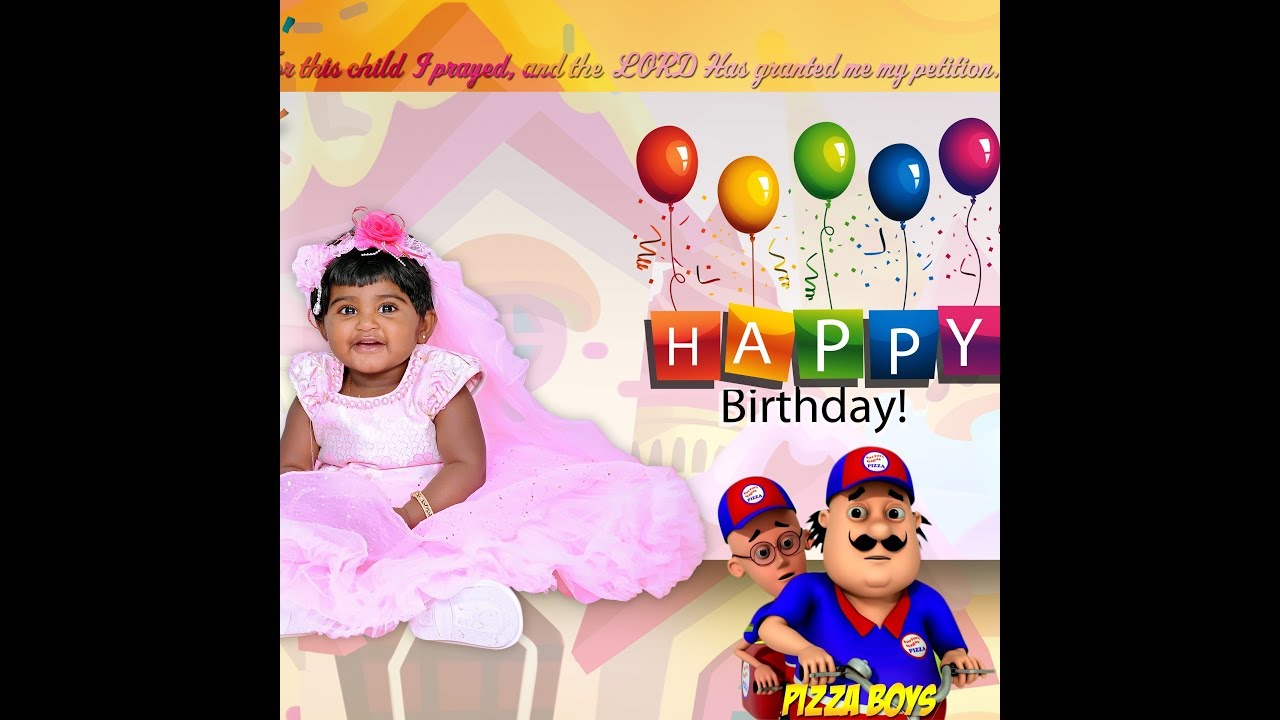 Valaikaappu To First Birthday In One Albumtamil My Journey From