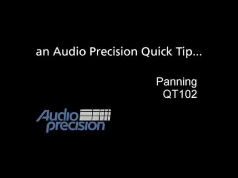 Audio Precision - QT102 - Panning