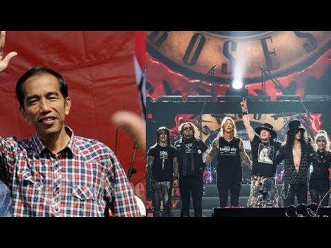 Pendukung Nonton Guns N' Roses, Emak Militan Jokowi: Millenial Banget, Love You Full Mp3