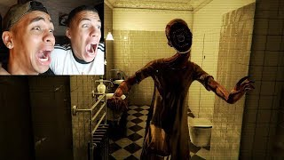 KRANKES JAPANISCHES HORROR GAME !!! Bathroom | PrankBrosTV