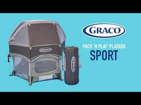 Comfortable Outdoor Play with the #Graco #Pack 'n Play #Playard Sport