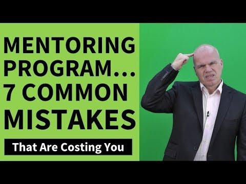 Mentoring Program – 7 Common Mentoring Program Mistakes