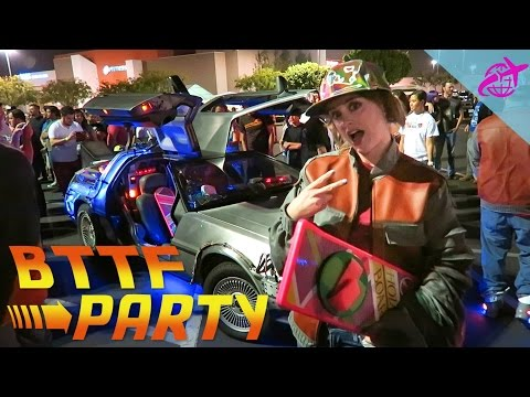 BACK TO THE FUTURE PARTY | Hill Valley, CA