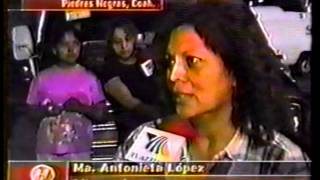 INUNDACION DE PIEDRAS NEGRAS VILLA DE FUENTE 04 ABRIL 2004