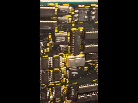 Amiga 30 Mountain View, exhibit room: A3000/040 prototype board