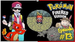 Pokémon Fire Red Let's Play #13: Os Desafios do Rock Tunnel, Rumo a Lavender