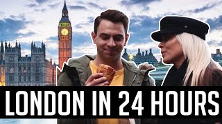 London in 24 hours w/ my friend Katy Tiz.  We argue which is better New York vs London