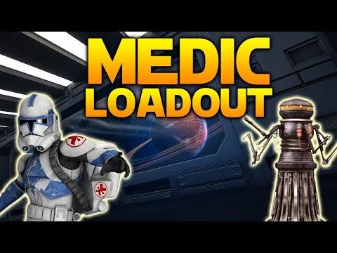 Star Wars Battlefront: THE MEDIC LOADOUT (Choose My Loadout)