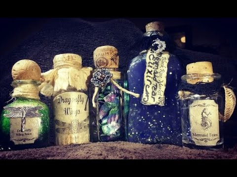 DIY-DragonScales,Mermaid Tears & Dragonfly Wings-Magic Potions