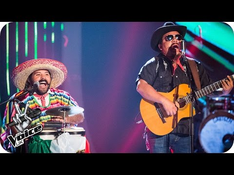 Mexican Brothers perform 'La Bamba / Twist & Shout'  - The Voice UK 2016: Blind Auditions 7