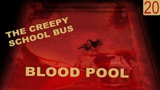 scary text message stories: THE CREEPY SCHOOL BUS BLOOD POOL