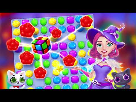 Candy Witch – Match 3 Puzzle Free Games 1