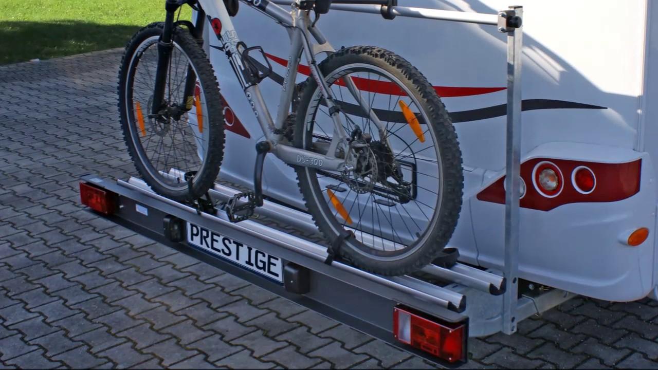 wohnmobil fahrradtr ger alutrans prestige 1125200 youtube. Black Bedroom Furniture Sets. Home Design Ideas