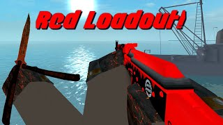 Counter Blox Red Loadout! (Prices & Gameplay)