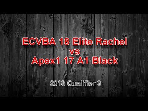 2018 ECVBA 18 Rachel vs Apex1 17 A1 Black