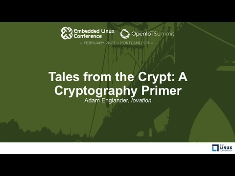 Tales from the Crypt: A Cryptography Primer - Adam Englander, iovation