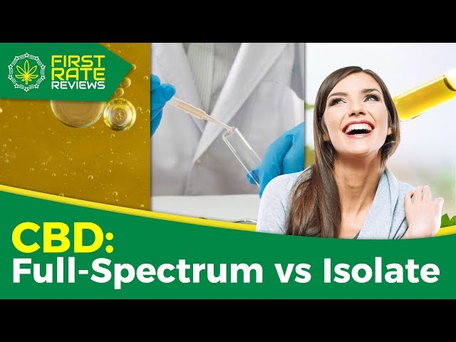 Difference Between Full-Spectrum and Isolate CBD Explained! | [2019]