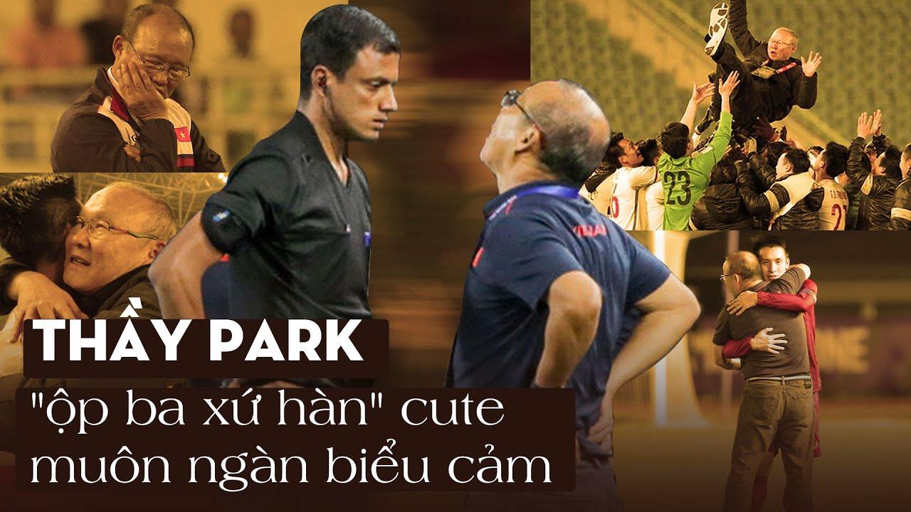 TỔNG HỢP Những khoảnh khắc cute của thầy Park Hang Seo trước thềm trận VIỆT NAM vs UAE | MOLISTAR