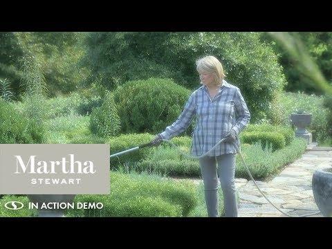 MTS SLH100   Martha Stewart + Snow Joeu0027s 100 FT Armadillo Lightweight Garden  Hose