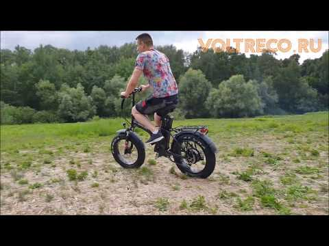 Электровелосипед Фэтбайк EVERIDER Fatbike Explorer 2000w 48v 18Ah 2019 Обзор Voltreco.ru