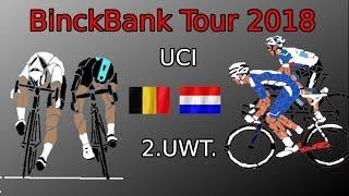 BinckBank Tour 2018 (13-19 August) Race Route, Profiles, Preview
