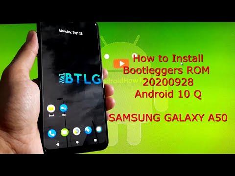 Bootleggers GSI for Samsung Galaxy A50 Android 10 Q 2020-09-28