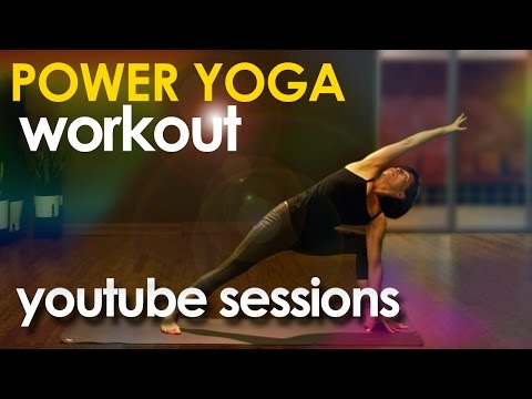 Power Yoga Workout ~ Full Body (30 minutes) #yogaworkout