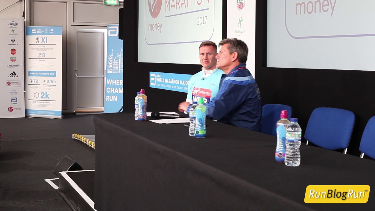 2017 London Marathon Post Race Press Conference - David Weir