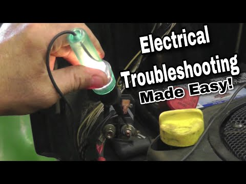 How To Troubleshoot Basic Electrical Problems on a Riding Mower - with Taryl