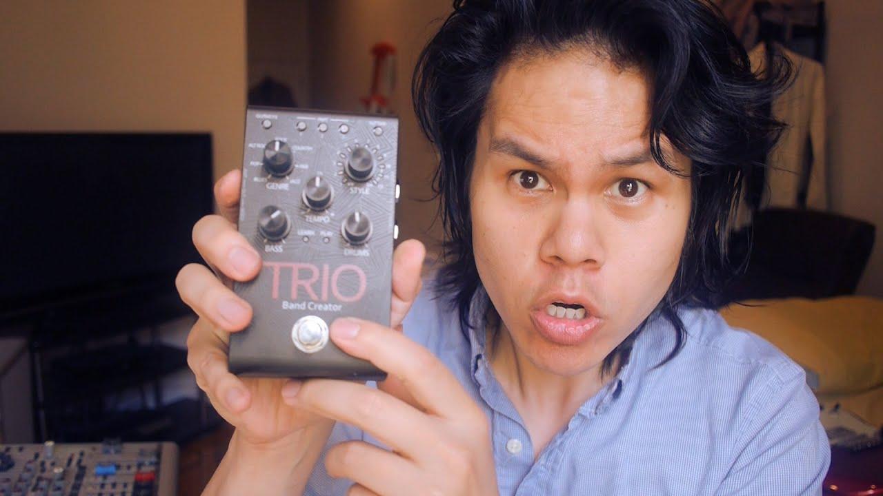 digitech trio guitar pedal review youtube. Black Bedroom Furniture Sets. Home Design Ideas