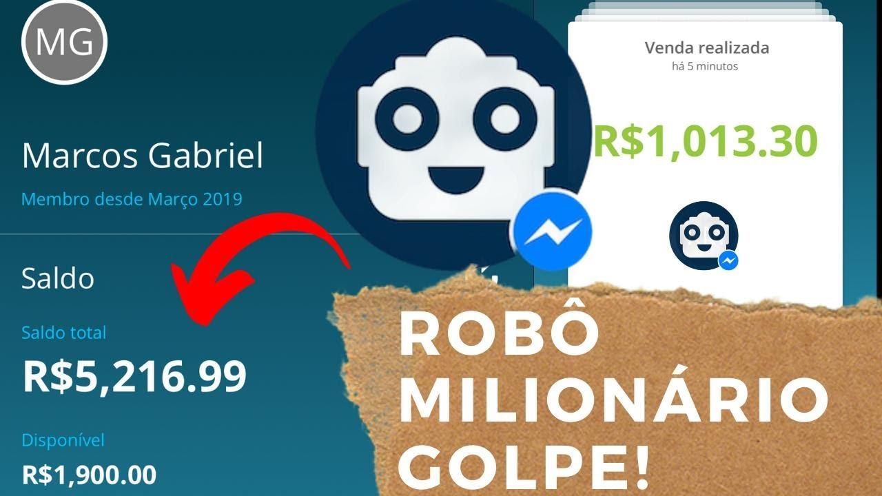 robo milionário como criar