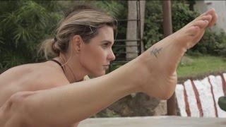 Fernanda Lima - Yoga na Índia - Esporte Espetacular { HD }
