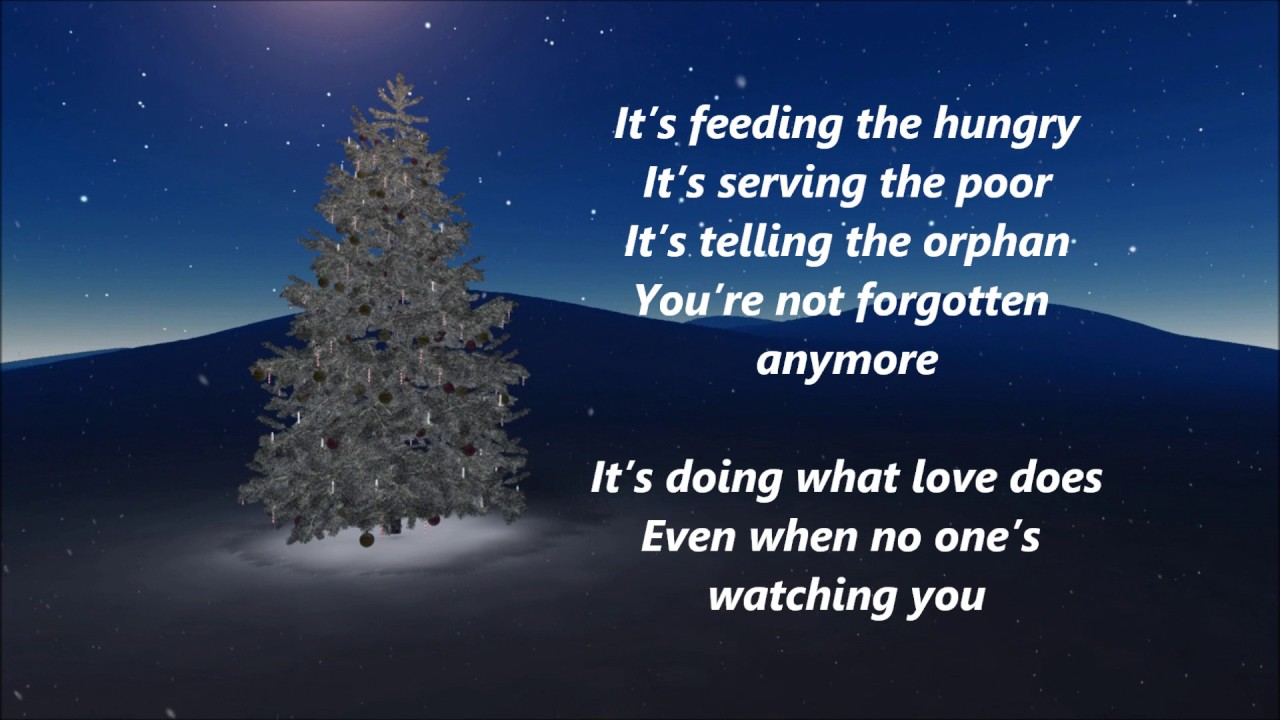 Matthew West and Amy Grant - Give this Christmas Away (Lyrics ...