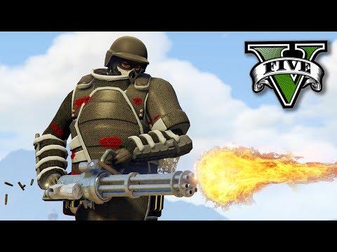 GTA V Online: O NOVO TRAJE quase INDESTRUTÍVEL!! (DLC GUNRUNNING)