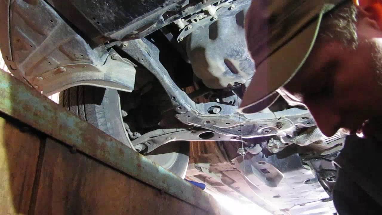 Замена масла в двигателе Mazda CX 5 2.0