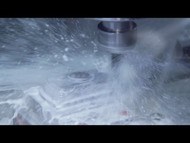 Optimal Mold Machining With Doosan DNM 5700s And PowerMill