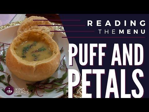 Puff & Petals | Reading The Menu