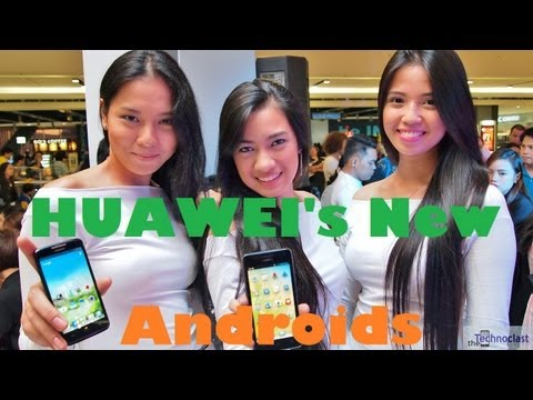Huawei Ascend D1 Quad XL & G600 Preview - Inexpensive Quad & Dual Core Droids For PHP 19k / 14k