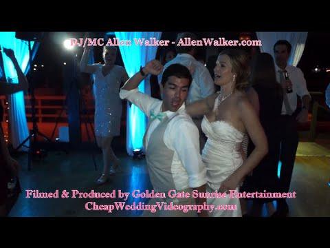 San Diego DJ Allen Walker Video Demo At Marina Village Wedding Affordable Videography