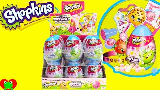 Shopkins Surprise Eggs with Sweets and Surprises