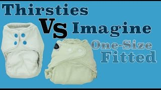 Thirsties OS Fitted VS Imagine OS Fitted - Cloth Diaper Review/Comparison - Faiths Attic