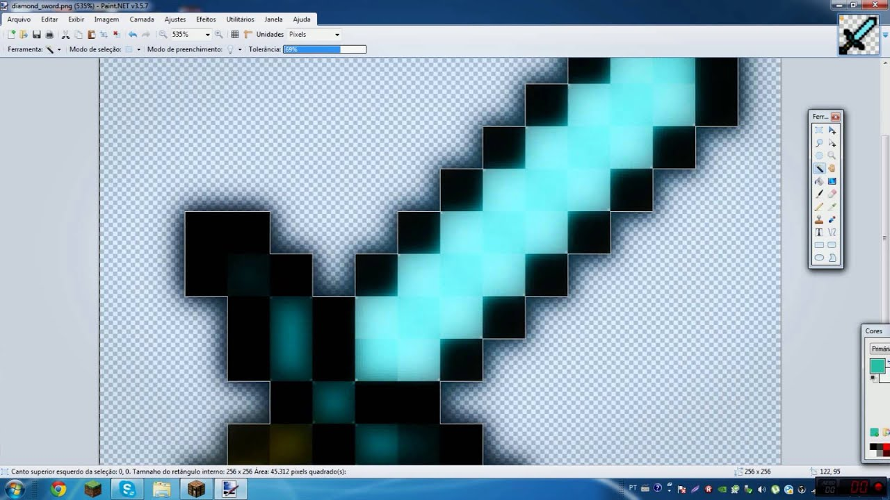 How To Make Texture Packs With Paint Net