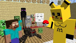 Monster School : Pokemon Go - Minecraft Animation