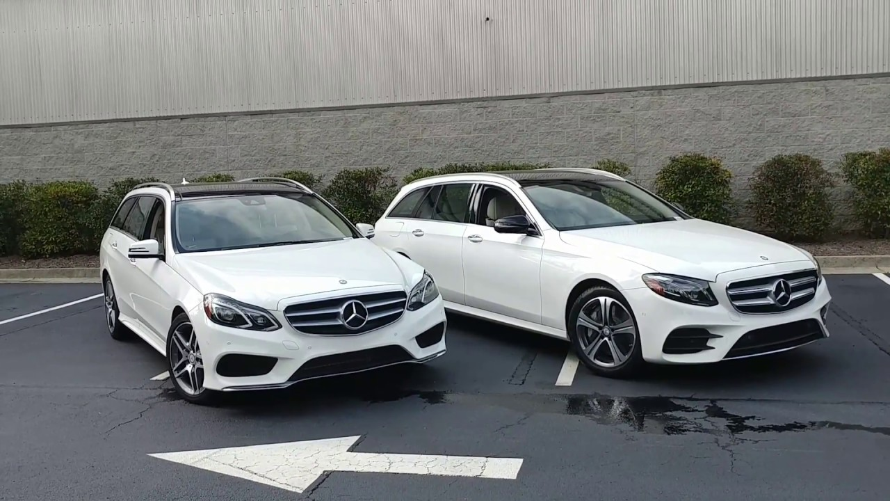 differences between the 2016 e350 and 2017 e400 mercedes benz wagon  [ 1280 x 720 Pixel ]
