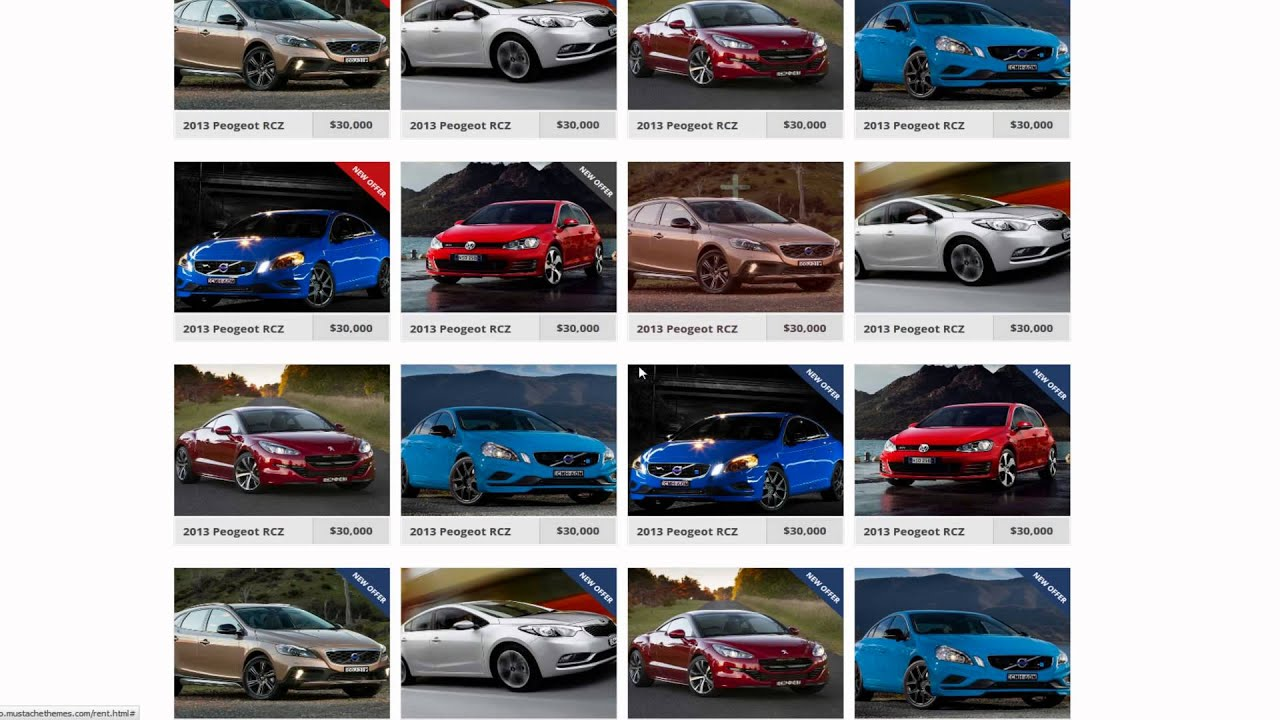 Dynamo rent sell buy car dealer html responsive