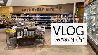 Vlog | Venturing Out | Whole Foods Haul