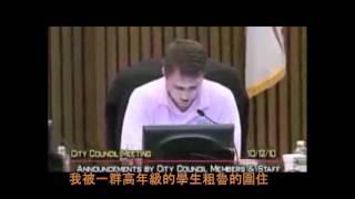 """中文字幕:Joel Burns """"it gets better"""" speach - translated in Chinese title"""