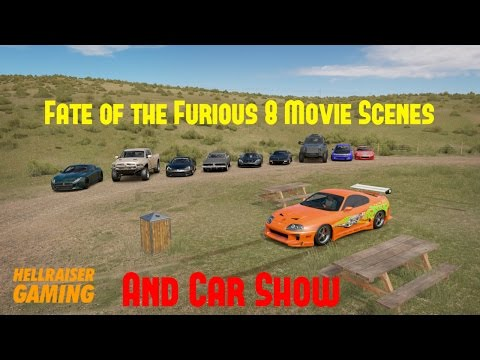 Forza Horizon 3 Fast & Furious Car Show, Fast 8 Submarine And New York Scenes, Older Film Cars +More
