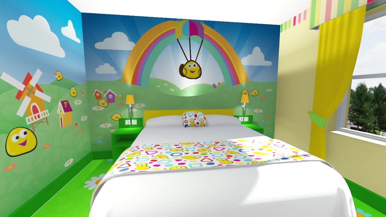 Alton Towers CBeebies Land Hotel Bugbie Room - YouTube | cbeebies furniture