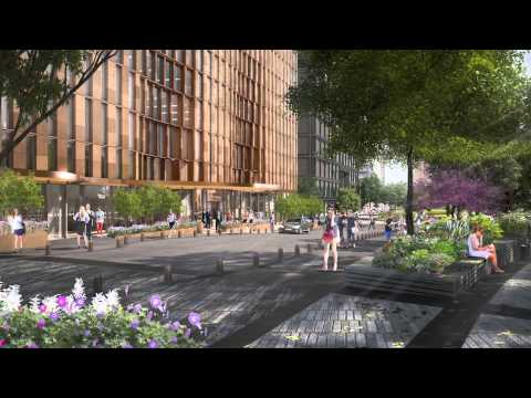 """The Hudson Yards Public Square - New York's """"Other"""" Elevated Park"""